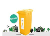 Des conteneurs jaunes pour la collecte des papiers-cartons disponibles à Somme-Leuze